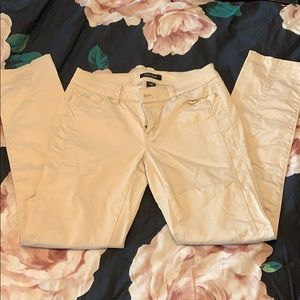 White House Black Market Pants - Khaki slim ankle pants